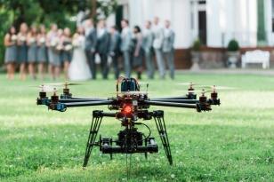 düğünlerde drone'lar!